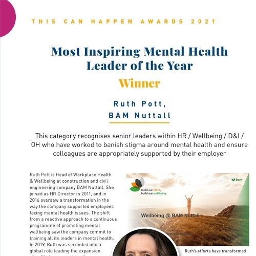 Most Inspiring Mental Health Leader of the Year photo