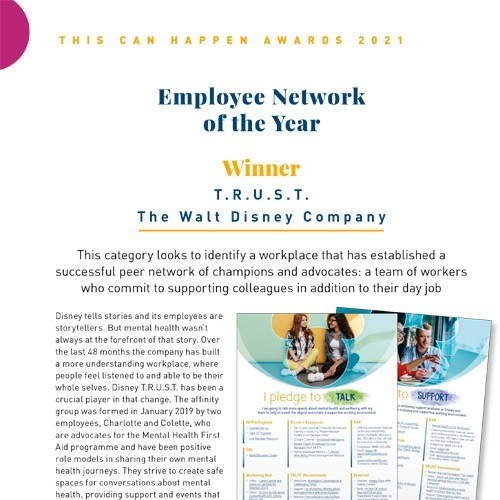 Employee Network of the Year photo