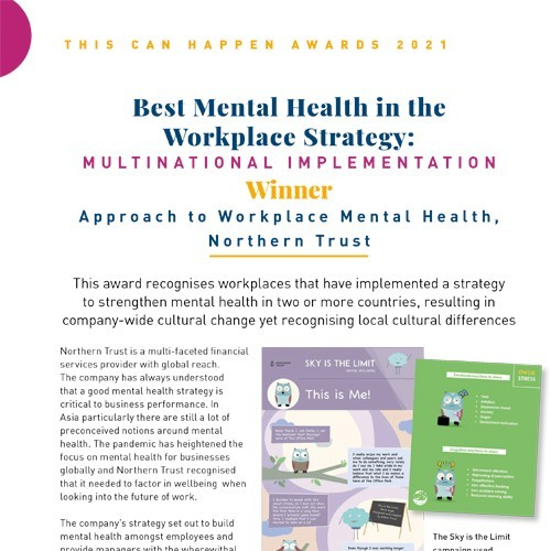 Best Mental Health in the Workplace Strategy: Multinational Implementation photo