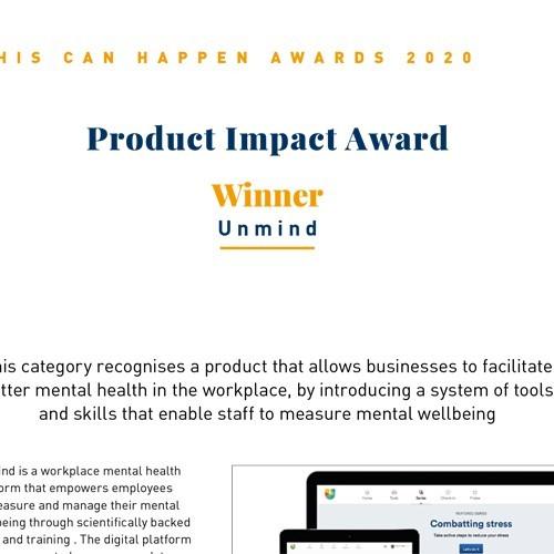 Product Impact Award photo