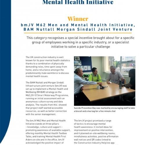 Best Targeted Mental Health Initiative photo