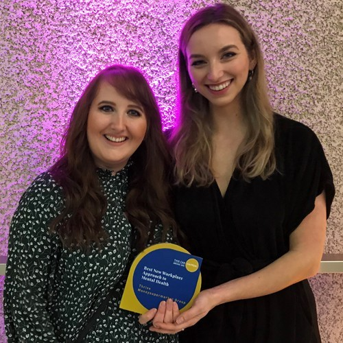 Winner of Best New Workplace Approach to Mental Health at This Can Happen Awards 2019 photo