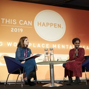 Keynote speaker Nadiya Hussain and TCH Founder Zoe Sinclair