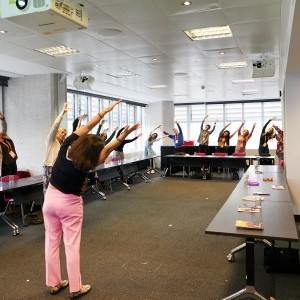 Experiential - Yoga in the Boardroom